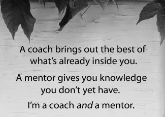 coach and mentor for freelancers