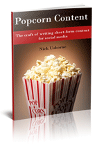 popcorn content  how to write social media content