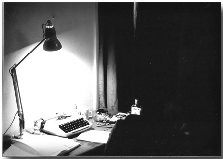writers desk in 1979