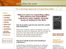 nick usborne's freelance website