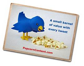 social media content postcard