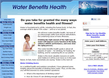 money making website about water