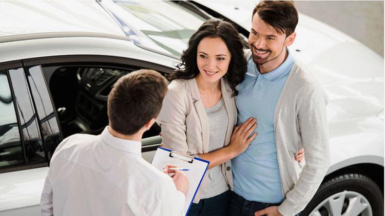 adversarial car sales man in coversation