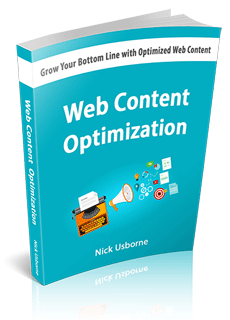 Web content optimization book cover