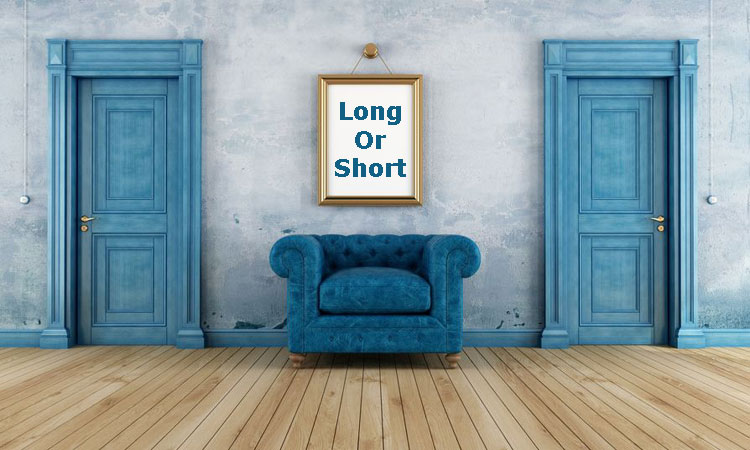 Choose between long form copywriting and short-form copywriting