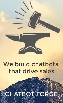 chatbot forge logo ad
