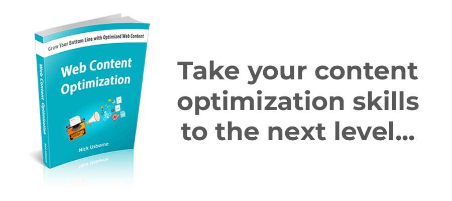 web content optimization guide